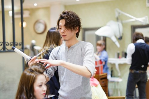 静岡市S&F美容室いちおしのハイブリットパーマ