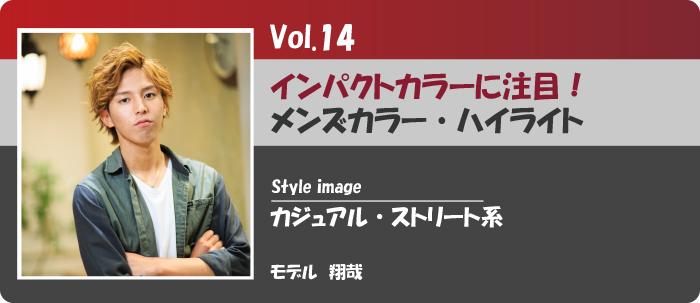 vol.14インパクトカラーメンズリンク