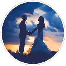 ロマンティックフォトウェディングの写真