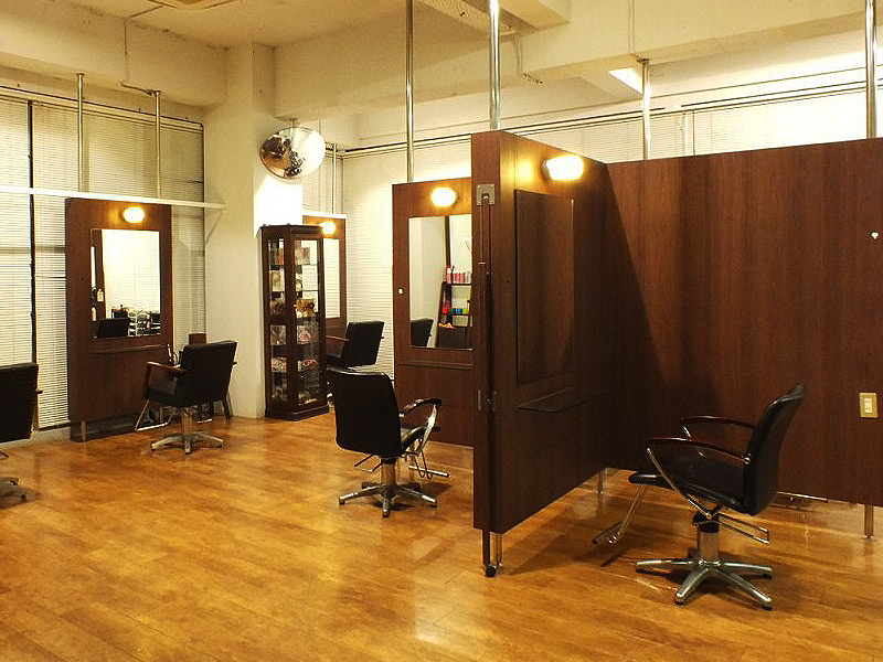静岡市のS&F美容室 松富店の写真